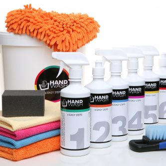 SET HAND WASH 6 EASY STEPS