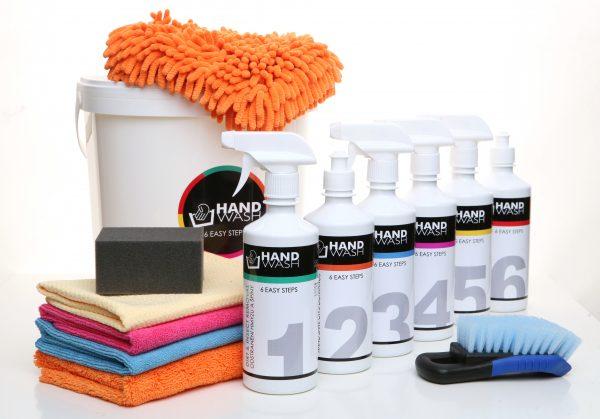 SET HAND WASH 6 EASY STEPS
